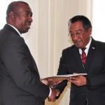 Document sur l'amélioration du Cadre légal remis au Gouvernement