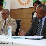 Signature de convention de partenariat entre la CENI et ROHY VM