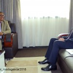 Visite de courtoisie de l'Ambassadeur de Turquie Madagascar à la CENI