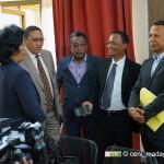Point de presse sur l'arrêtage provisoire de la liste électorale