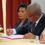 Signature du protocole d'accord avec l'OIF