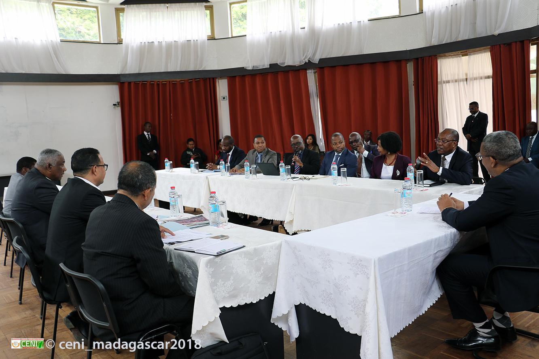 Délégation de la SADC à la CENI