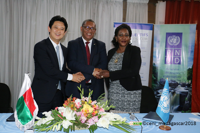 Contribution de la Corée du Sud au processus électoral à Madagascar