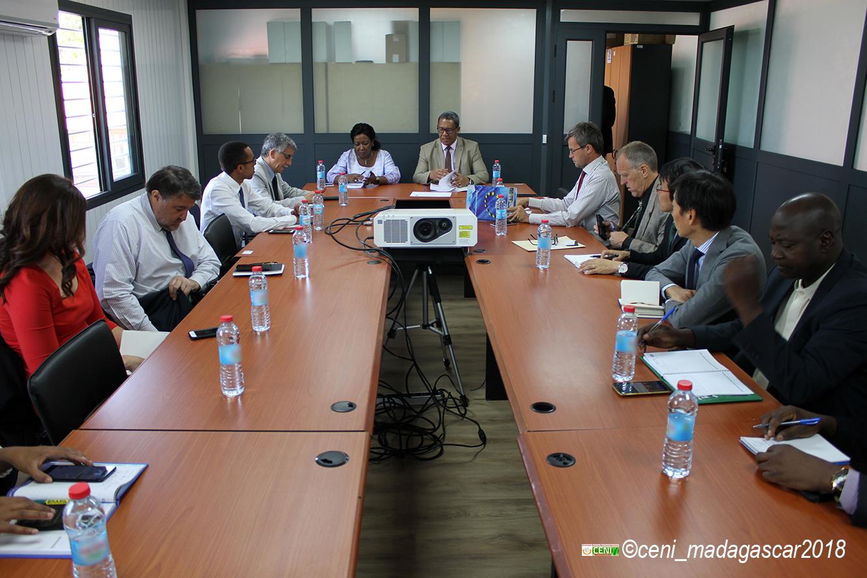 Réunion du Comité de Pilotage SACEM (Soutien Au Cycle Electoral de Madagascar)