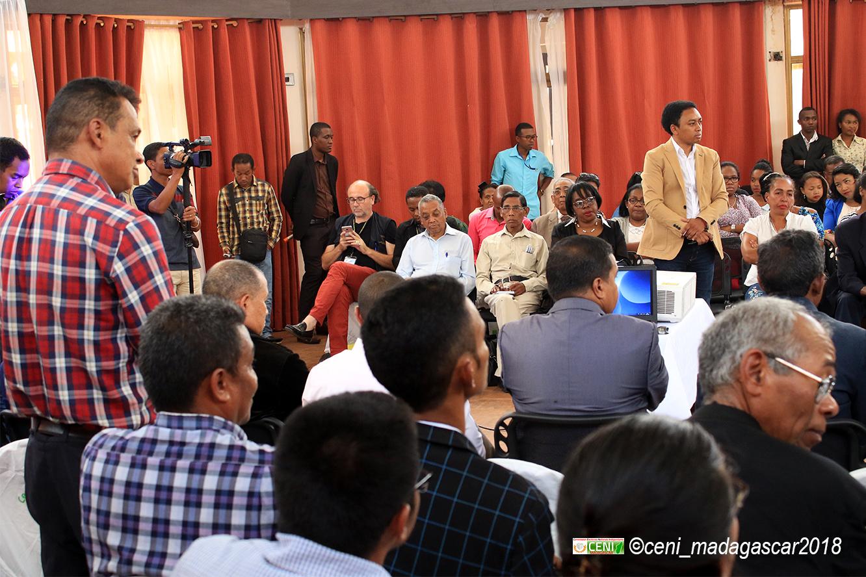 Cadre de concertation multiacteurs sur l'élection présidentielle 2ème tour