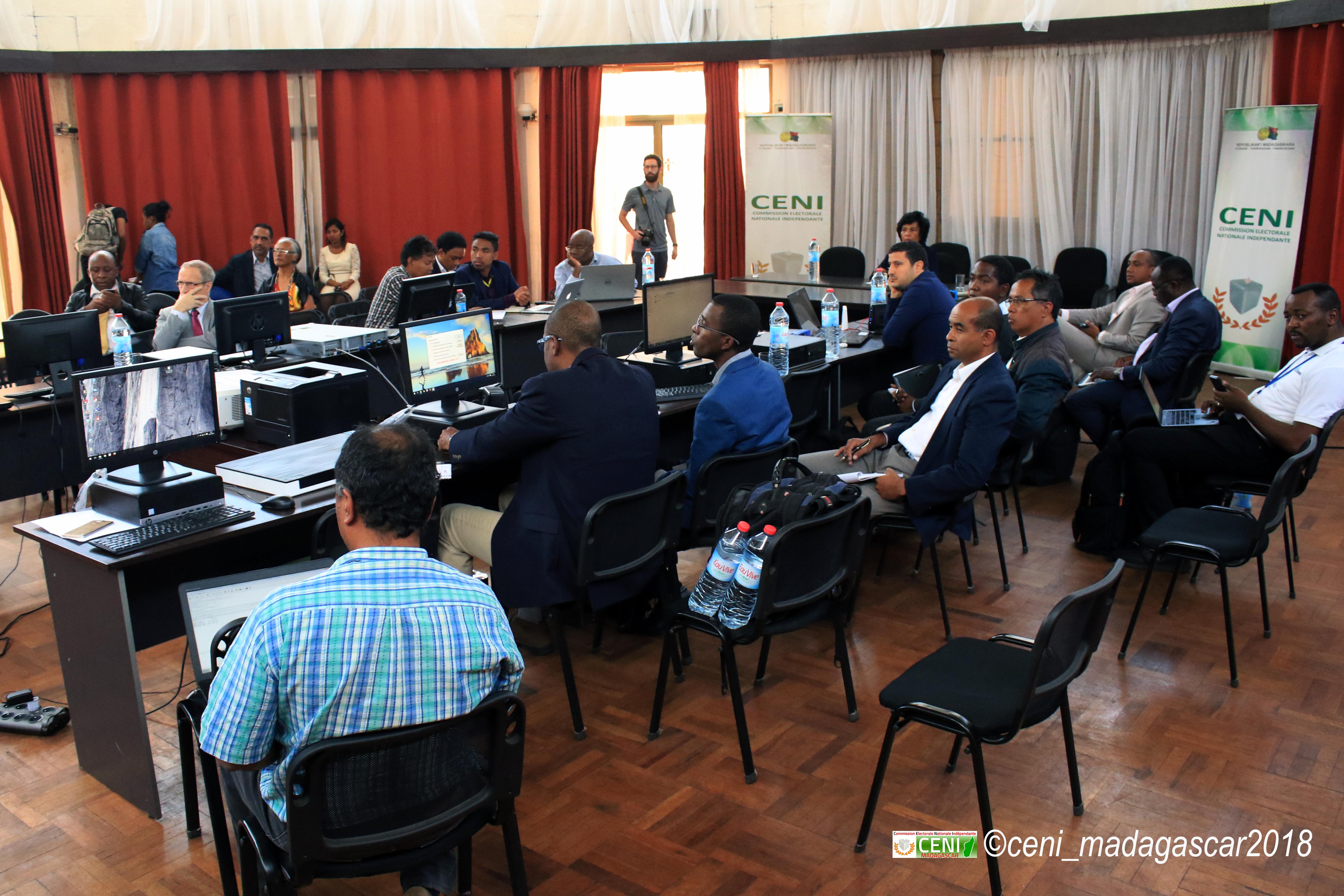 Présentation du logiciel de la CENI pour le traitement et la centralisation des résultats