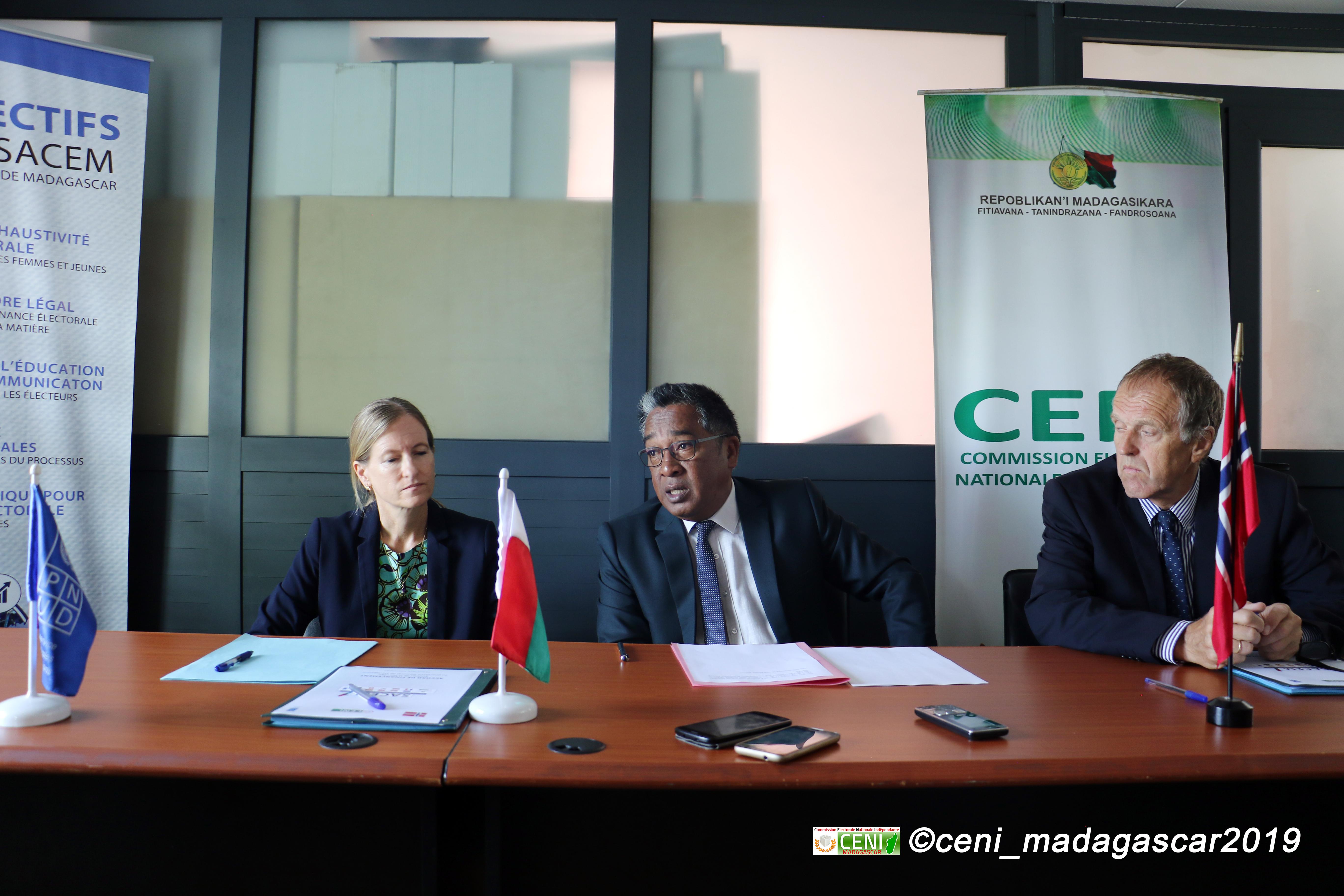 Une quatrième contribution de la Norvège au processus électoral de Madagascar