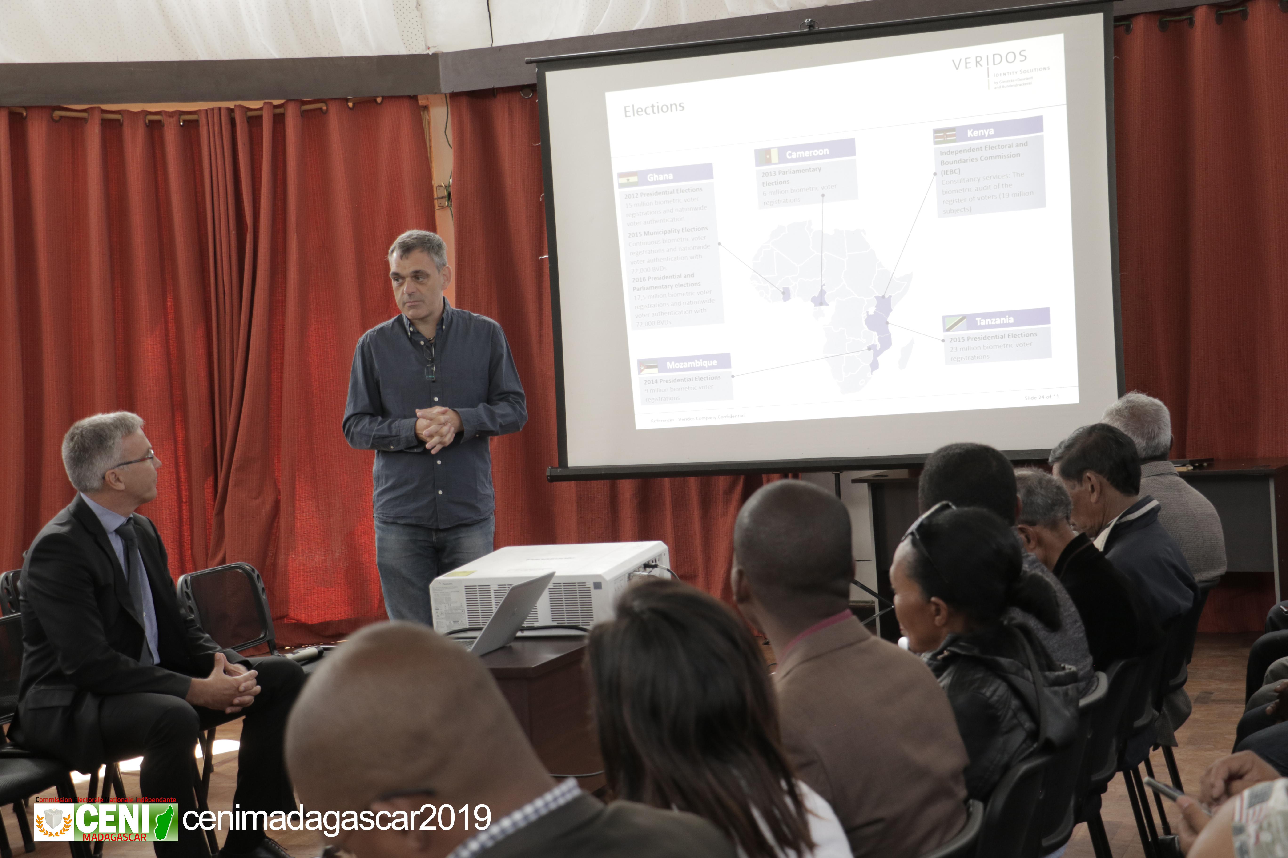 Cadre de concertation multiacteurs sur la solution biométrique au processus électoral