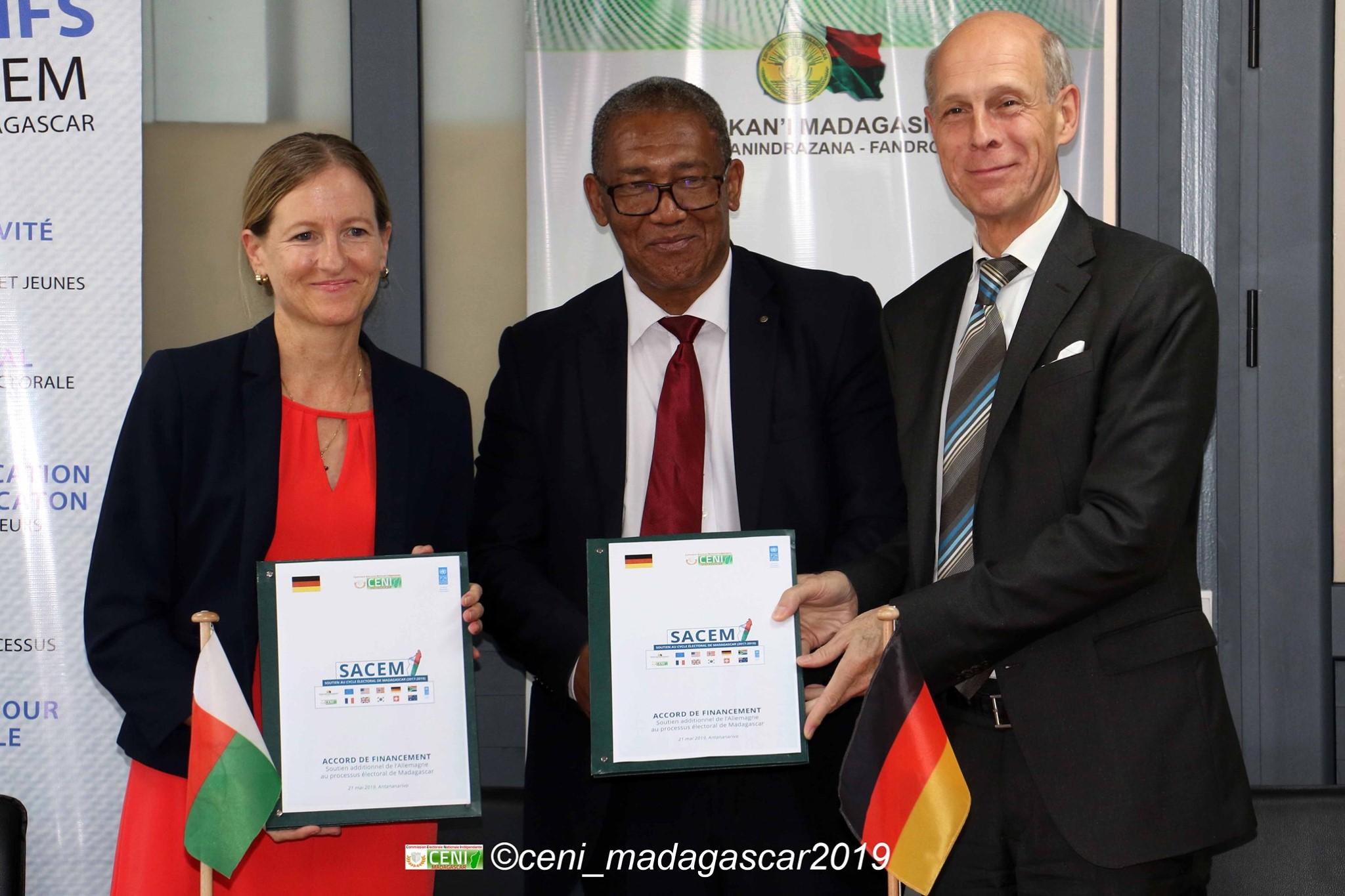 Nouvelle contribution financière du gouvernement allemand pour le fond du projet SACEM