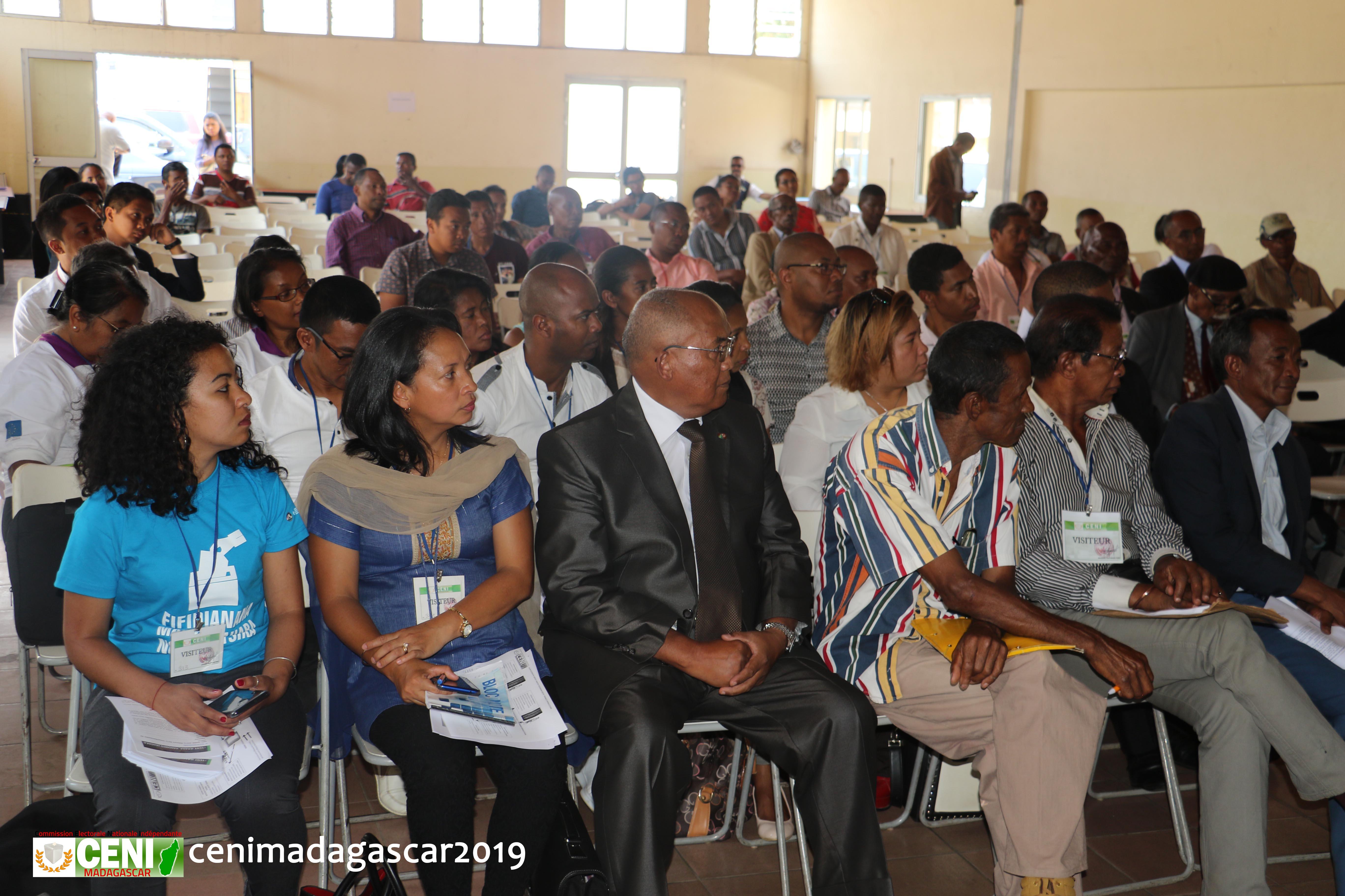Cadre de concertation multiacteurs sur les préparatifs des élections communales et municipales