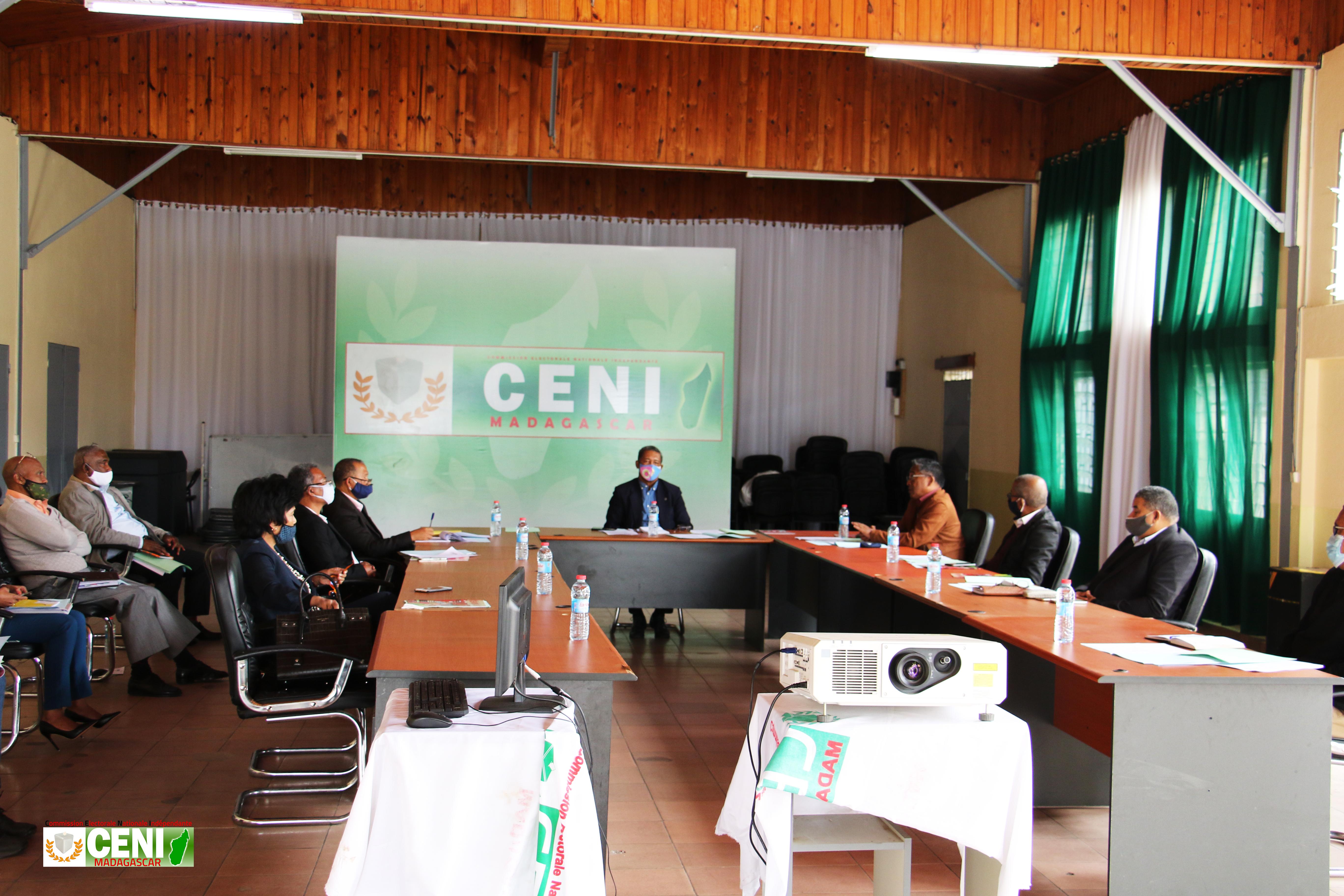 Assemblée générale du Bureau Permanent de la CENI, jeudi 04 juin 2020