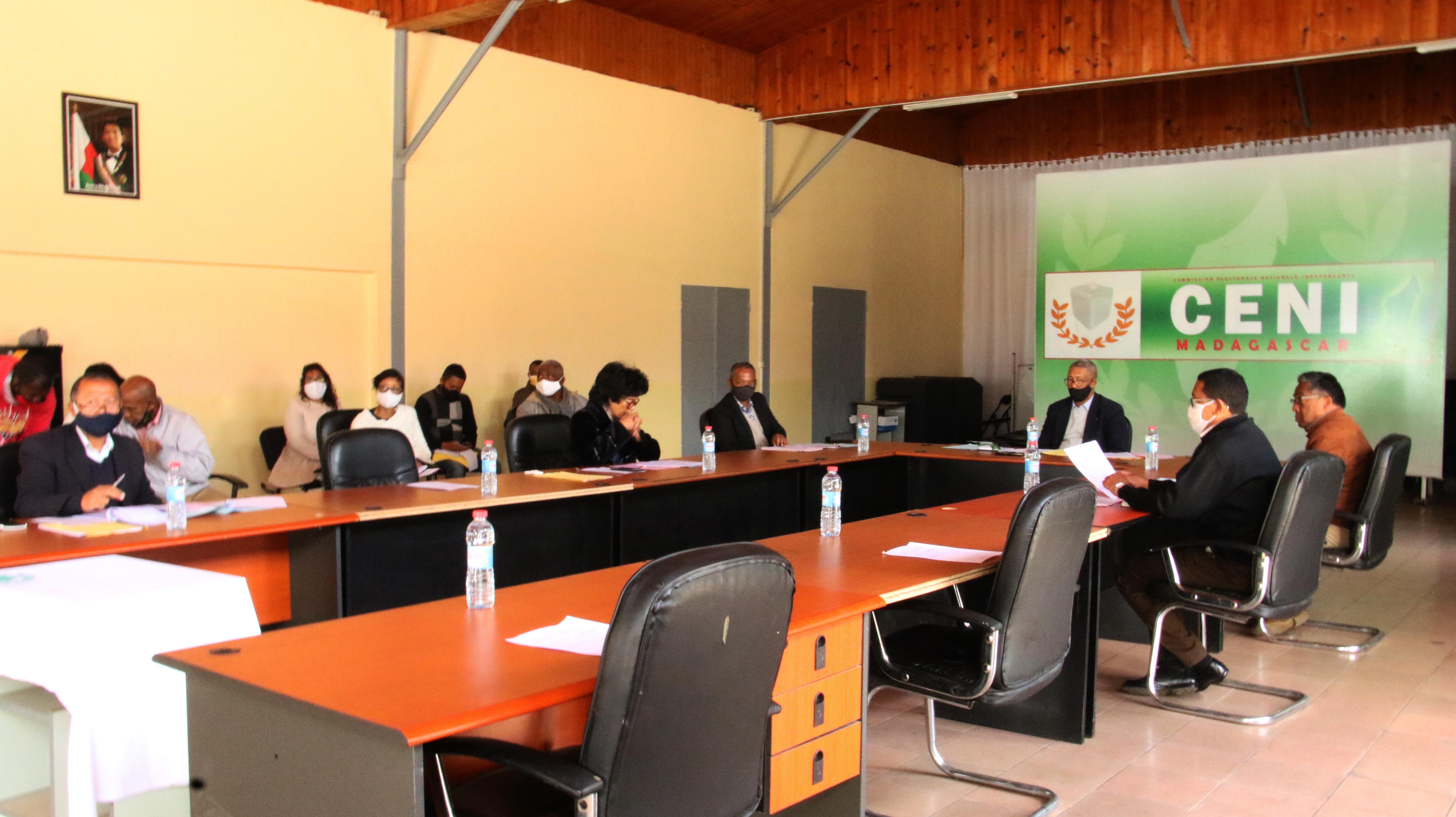 Assemblée générale du Bureau permanent de la CENI ce 11 juin 2020